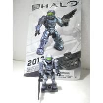 Mega Bloks Halo Spartan Ediccion Especial Azul Grisaseo