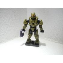 Mega Bloks Halo Serie Alpha Spartan Scout Verde