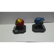 Dr. Veneno Halo Figuras Cascos Precio Por Ambos