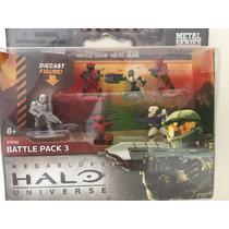 Megabloks Metal Series Halo Universe Battle Pack 3 - 97036