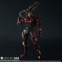 Play Arts Halo4 Kai Kai Spartan Soldier Listo Para Envío!!