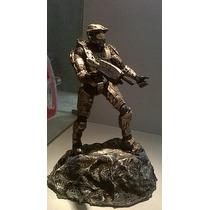 Figura De Resina Del Personaje Halo