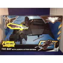 Batman The Bat Dark Knight Rises Con Figura