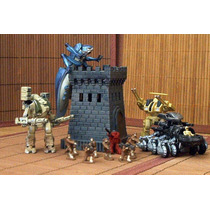 Starship Trooper Lot Torre 12 Figura & Vehiculo 1/55 Ve Anun
