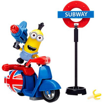 Mega Bloks Minion Película Scooter Escape