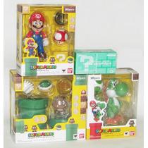 Super Mario Con Set B Y Yoshi Sh Figuarts Bandai Nintendo Jp