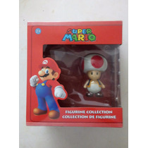 Hongo Toad. Figura Nueva De La Colección De Mario Bros.