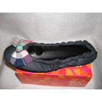 Geniales Zapatos Flat De Mezclilla Nña Y Adulto By Libelula