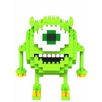 Set De 2 Figuras Armables Tipo Lego Monsters Inc.
