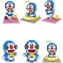 Set De 3 Figuras Armable Doraemon