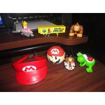Lote De Juguetes Mario Bros