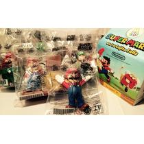 Super Mario Mcdonalds Figuras Nuevas Colección Nintendo Wii