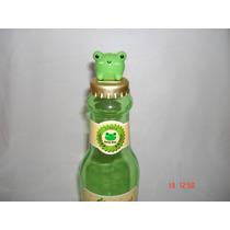 Increible Alcancia En Forma De Botella Y Tapa De Rana,kawaii