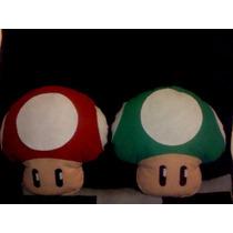 Cojín De Hongo De Mario Bros