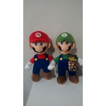 Luigui Peluche Mario Bros Gorra