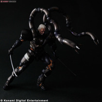 Solidus Snake Metal Gear Solid 2 Sons Of Liber Play Arts Kai