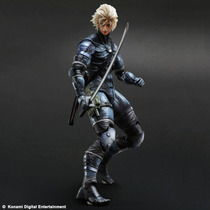 Raiden Metal Gear Solid 2 Sons Of Liberty Play Arts Kai