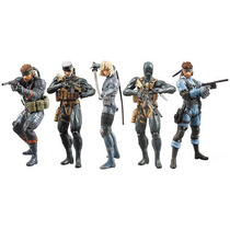 Metal Gear Solid 20th Aniversario Konami Snake Raiden 7 Vv4