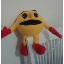 Pacman Videojuego Peluche