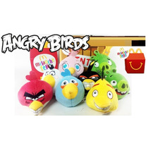 Coleccion Angry Birds Mcdonalds