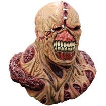 Mascara Nemesis Latex Con Pechera Resident Evil Original