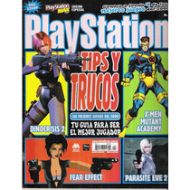 Revista Playstation Max Dino Crisis 2 Parasitive Eve 2 Op4