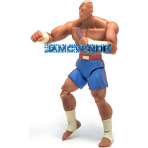 Capcom, Street Fighter, Sagat, Jazwares, 10cms