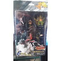 Street Fighter Set De 6 Mini Figuras