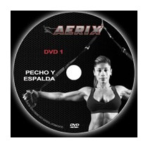 Aerix Equipo Entrenamiento En Suspension, 8 Dvd, Manual Tirx