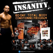 Insanity 10 Dvds Tapout Entrenamiento Extremo Tipo Crossfit