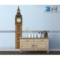 Vinilo Decorativo Big Ben 04 Inglaterra Calcomanía