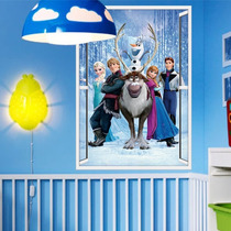 Vinilo Decorativo Sticker Infantiles Frozen 1 48x68
