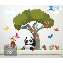 Vinilos Decorativos Infantiles De Animalitos (bebés Y Niños)