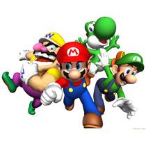 Viniles Mario Bros, Para Pared, Diferentes Modelos Y Tamaños