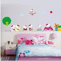 Vinilo Decorativo Sticker Hello Kitty 160x40