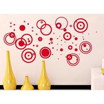 Increíble Vinilo Decorativo Circulos Sticker Sala Recámara