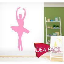Vinilo Decorativo Bailarina Ballet 65 B X 150 A
