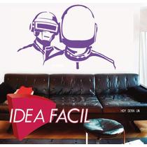 Vinilo Decorativo Daft Punk - 150 B X 90 A