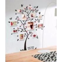 Vinilo Decorativo Sticker Arbol Foto Familar 120x100