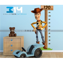 Vinilo Decorativo Regla Toy Story-i 08, Calcomanía Woody