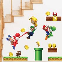 Vinil Decorativo Mario Bros