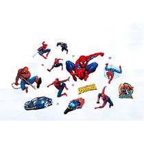 Vinil Decorativo De Spiderman P/ Habitación Infantil