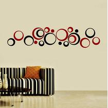Increíble Vinilo Decorativo Círculos Geométricos