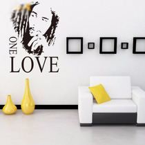 Vinil Decorativo Bob Marley One Love Regalo Ideal 61x43