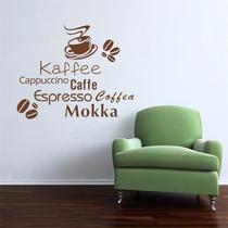 Vinilo Decorativo Sticker Café Coffee 57x38