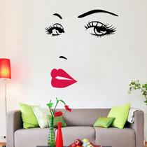 Vinilo Decorativo Pared Con Imagen De Marilyn Monrroe
