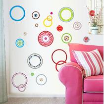 Vinilo Decorativo Sticker Circulos 95x215