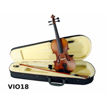 Violin 1/8 Incluye Arco Brea Estuche Color Natural