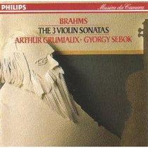 Violin Arthur Grumiaux Brahms Sonatas Cd Envio Gratis Eex
