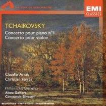 Violin Ferras Concierto Tchaikovsky Cd Euro Envio Gratis Eex